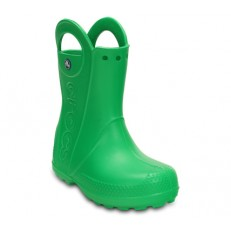 Crocs Handle It Rain Boot Kids Grass Green