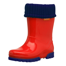 Term Roll Top Welly (Red)
